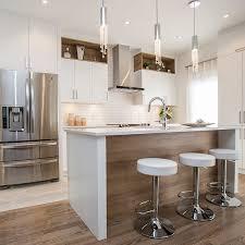 cuisine comtemporaine cuisines beauregard armoires de cuisine réalisation 365 élégante