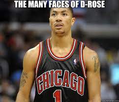 D Rose Memes - the many faces of d rose derrick rose faces quickmeme