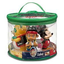 your wdw store disney bath toy set disney junior jake manny oso