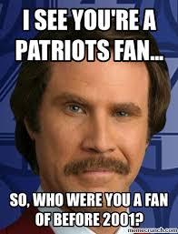 Patriots Fan Meme - fans suck balls