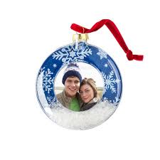 personalized ornaments photo ornament glass cvs photo