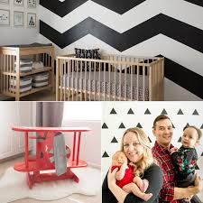 modern baby nursery popsugar moms