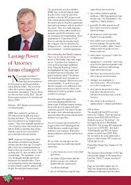Property And Financial Affairs Lasting Power Of Attorney by Ipw Journal Inheritance Matters Magazine Spring 2017 Page 8 9