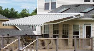 Electric Awning For House The Total Eclipse Commercial Retractable Awning Eclipse Shading