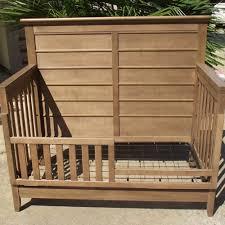 Oak Convertible Crib Brixy Oak Park Convertible Crib In Prairie