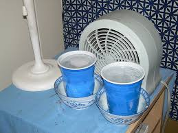 fan that uses ice to cool how to keep cool with a broken air conditioner loescher hvac