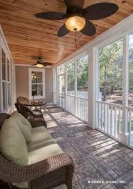 Enclosed Porch Plans Screened In Porch Ideas Outdoor Fireplace Integrated Into