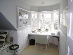 decorations white bay window with small study area bay window