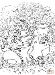 old king cole coloring page eson me