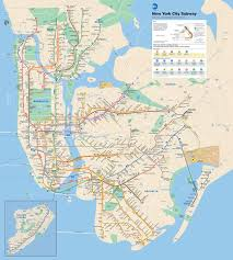 map for new york how to read the mta subway map