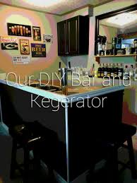 our diy bar and kegerator plunged in debt