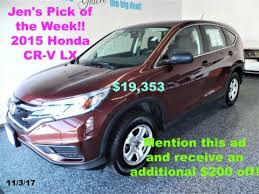 honda crv used certified 51 used cars in stock stratham portsmouth honda barn