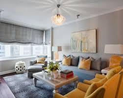 Gray And Beige Living Room by Gray And Yellow Living Room Houzz