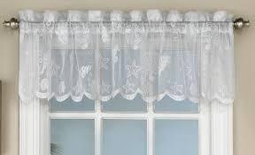 Antique Satin Valances by Kitchen Tier Curtains Reef Lace Kitchen Curtains By Lorraine