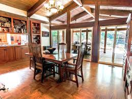 haven by the lake craftsman homescraftsman styleentry dining