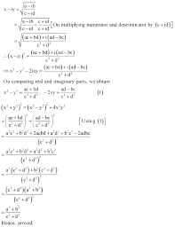 ncert solutions for class 11th maths chapter 5 complex numbers and