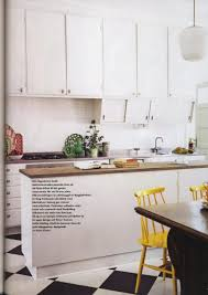 kitchen kitchen ideas with black appliances and white vinyl