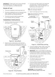 harbor freight water pump areas of use installation instructions harbor freight tools