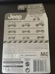 matchbox jeep wrangler matchbox jeep wrangler superlift toy car die cast and wheels