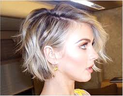 julie ann huff new haircut short textured and choppy bob hair beauty