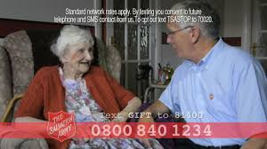 older people and the salvation army tv advert 2016 enid 30