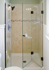 The Shower Door Image Result For Frameless Bifold Shower Door Bathroom Designs
