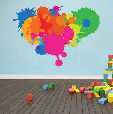 color splash wall decal color murals primedecals