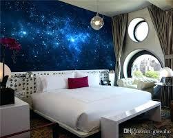 galaxy wall mural blue bedroom wallpaper blue galaxy wall mural beautiful photo