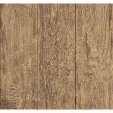 shop style selections 5 24 in w x 4 23 ft l rustic hickory wood