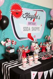 Rock And Roll Party Decorations 113 Best 50 U0027s Party Images On Pinterest Birthday Party Ideas