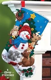 bucilla kits woodland snowman bucilla christmas kit