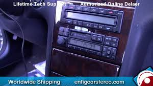 97 mercedes e class aux input installation and demonstration youtube
