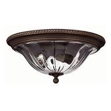 Flush Mount Chandelier 3616ob Flush Foyer Light 2 Light Olde Bronze Hinkley