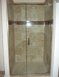 bathroom interesting frameless shower doors for bathroom frameless shower doors matched with tan wall for bathroom ideas