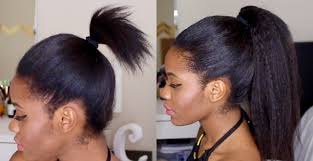 high ponytail using clip ins in short hair youtube