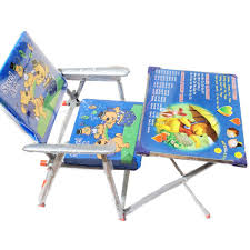 kids fold up table and chairs buy kids folding study table and chair online at low prices in india