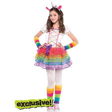 Costumes Halloween Girls Girls Rainbow Unicorn Costume Costume Ideas