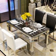 stainless steel dining table designs stainless steel dining table