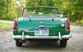 1962 1966 mg midget collectible classic automobile magazine