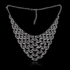 silver choker collar necklace images Cheap silver statement necklace find silver statement necklace jpg