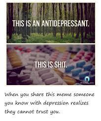 Antidepressant Meme - depression janis hill