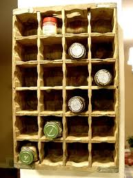Flat Spice Rack Soda Crate Spice Rack Welcome To The Homesteading Today Forum