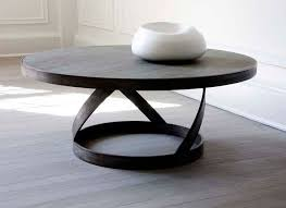 Grey Wood Coffee Table Mar Silver Design