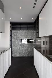 Black And White Home Interior Lera Katasonova Design Creates A Black And White Apartment For A