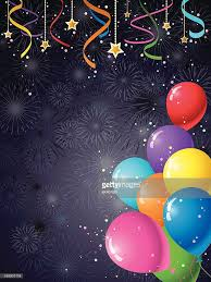 party streamers party streamers balloons vector getty images