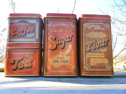 metal canisters kitchen 392 best flour sugar coffee tea images on vintage