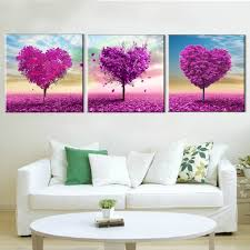 Home Decoration Paintings Online Buy Wholesale Purple Wall Paintings From China Purple Wall