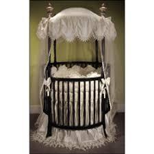 antoinette round crib bedding set neutral round crib bedding