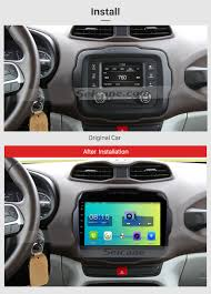 jeep renegade hatchback 2016 jeep renegade 9 inch 1024 600 touchscreen android 6 0 radio