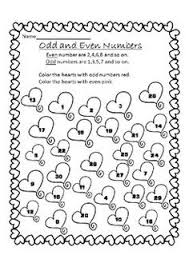 odd and even number hidden picture worksheets hidden pictures